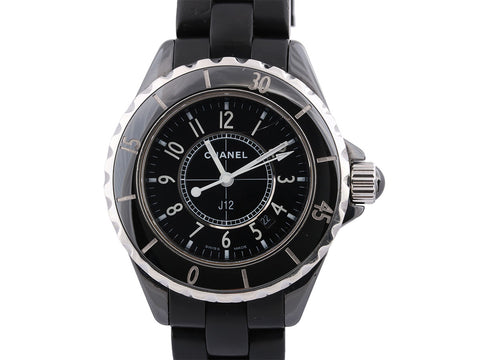 Chanel Black J12 Watch