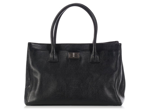 Chanel Black Reissue Cerf Tote
