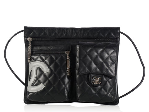 Chanel Black Cambon Crossbody