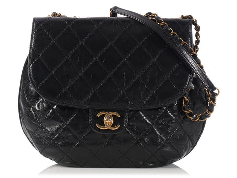 Chanel Black Bubble Shoulder Bag