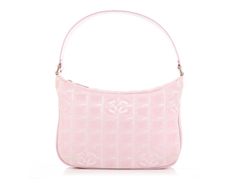 Chanel Small Rose Claire Logo Bag