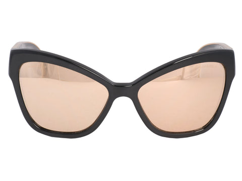 Chanel Gold Mirror Cat's Eye Sunglasses
