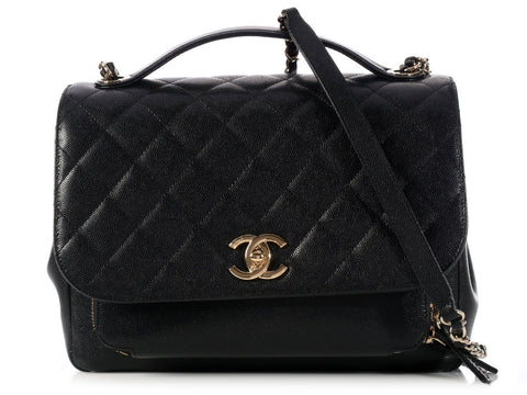 Chanel Black Business Affinity Flap