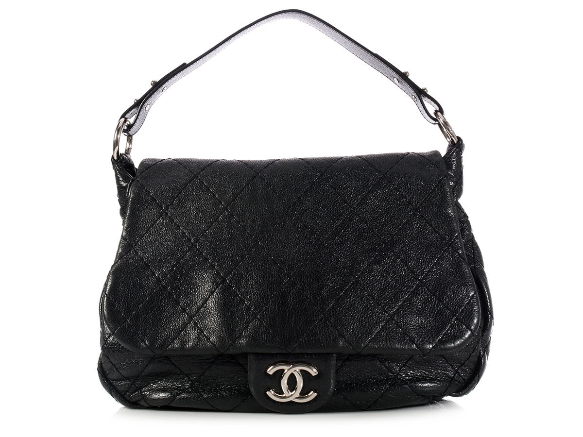 Chanel Black on the Road Flap