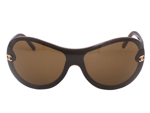 Chanel Amber Shield Sunglasses
