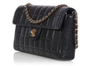 Chanel Black Chocolate Bar Flap