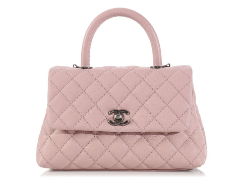 Chanel Light Pink Mini Coco Handle