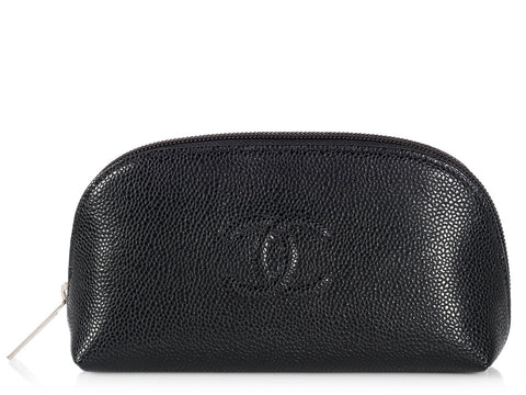 Chanel Black Cosmetic Case