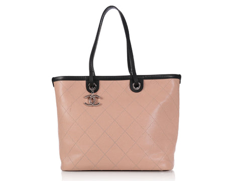 Chanel Pink Shopping Fever Tote