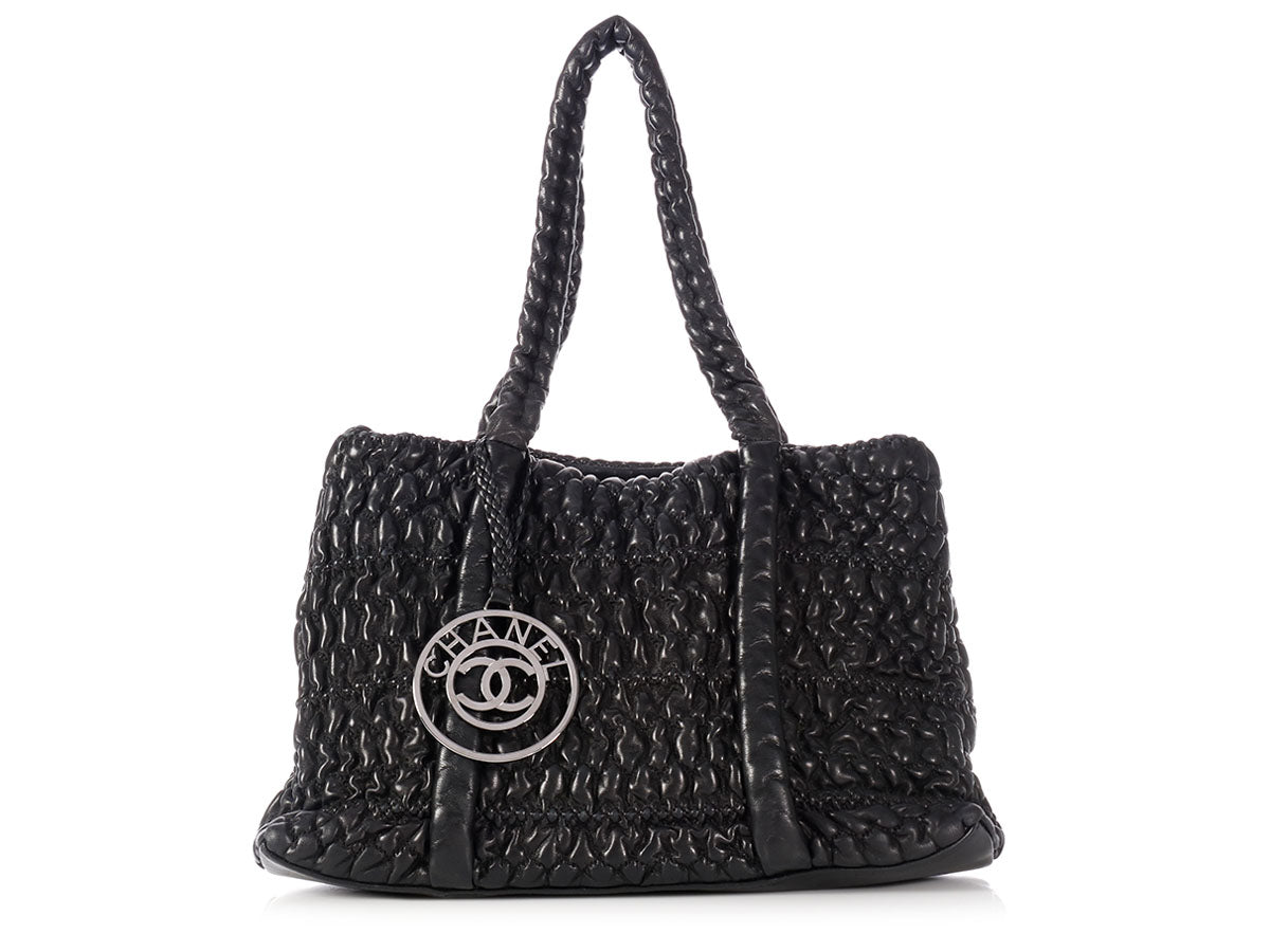 Chanel Black Hidden Chain Tote