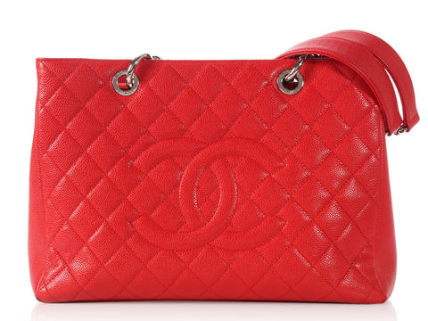Chanel Rouge Grand Shopping Tote GST