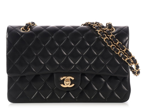Chanel Medium/Large Black Classic Double Flap