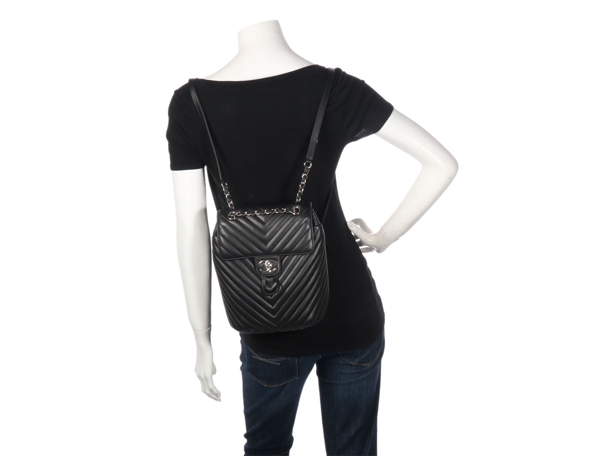 49885d6ea65c ... Urban Spirit Backpack. Chanel Small Black Lambskin ...