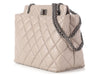 Chanel Petite Light Gray 2.55 Reissue Tote
