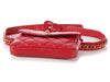 Chanel Red Lambskin Vintage Waist Bag