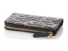 Chanel Camellia Black O-Case Key Pouch