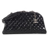 Chanel Medium Black Quilted Glazed Calfskin Just Mademoiselle