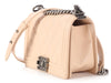 Chanel Old Medium Beige Lambskin Boy