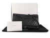 Chanel XXL Black Quilted Calfskin Travel Flap