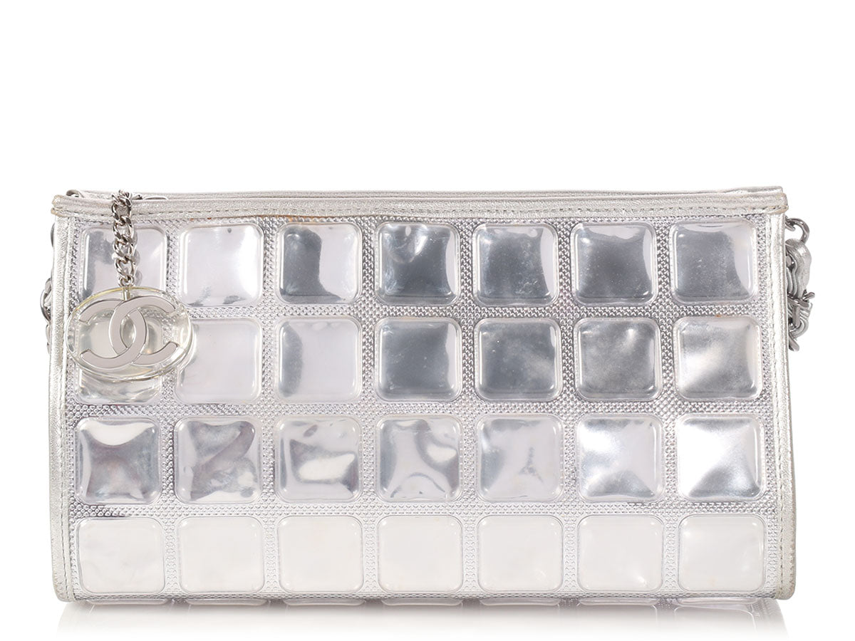 d298795361fc Shoptagr | Chanel Silver Ice Cube by Ann's Fabulous Finds