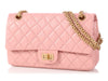 Chanel Small Light Pink Calfskin Reissue 225 Double Flap
