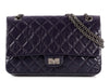 Chanel Purple Reissue 226 Classic Double Flap