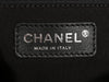 Chanel Black and Taupe Velvet Knitting Bag