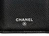 Chanel Black Quilted Caviar Yen Wallet