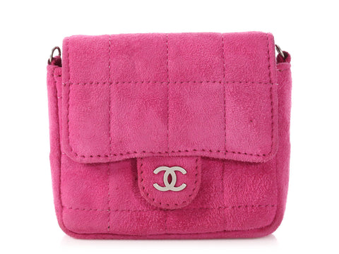 Chanel Tiny Pink Flap Crossbody/Belt Bag