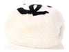Chanel White CC Rabbit Muff