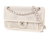 Chanel Medium Dark White Up in the Air Flap Bag