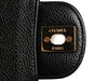 Chanel Small Black Quilted Caviar Classic Double Flap