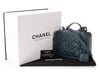 Chanel Dark Turquoise Filigree Vanity Case