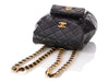 Chanel Black Quilted Lambskin Vintage Backpack