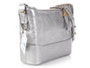 Chanel Medium Silver Calfskin Gabrielle Bag