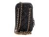 Chanel Black Quilted Calfskin Crossbody Phone Case
