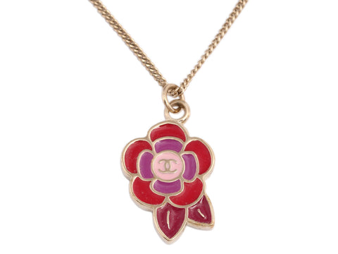 Chanel Camellia Necklace