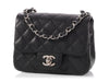 Chanel Black Quilted Caviar Mini Classic