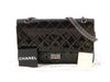 Chanel Metallic Dark Green Quilted Patent Reissue 227 Double Flap