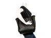 Chanel Black Cozy CC Shearling and Lambskin Tote