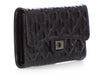 Chanel Black Striped Rayures Reissue Wallet