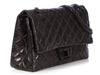 Chanel So Black Quilted Aged Calfskin Reissue 227 Double Flap
