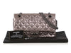 Chanel Silver Metallic Quilted Distressed Aged Calfskin Reissue 225 Double Flap