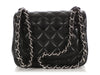 Chanel Black Quilted Lambskin Mini Classic