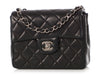 Chanel Mini Black Quilted Lambskin Classic