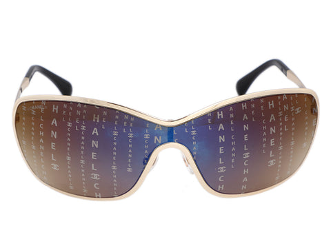 Chanel Data Center Shield Sunglasses
