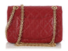 Chanel Mini Red Quilted Aged Calfskin Reissue Classic