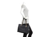 Chanel Black Part-Quilted Grand Shopping Tote GST