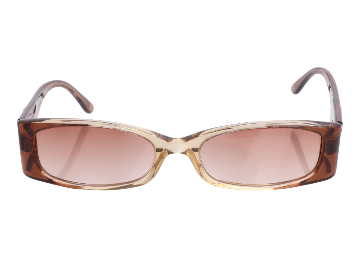 Chanel Brown Reader Sunglasses
