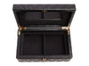 Chanel Black Quilted Lambskin Jewelry Box
